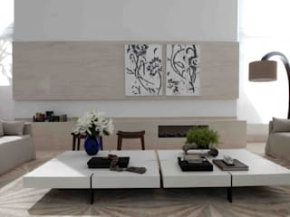 Modern Living Room by Deborah Roig Modern
