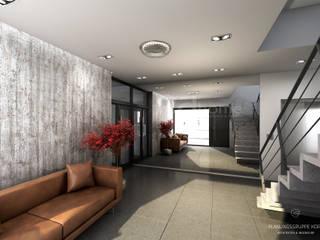 Corridor & hallway by Planungsgruppe Korb GmbH Architekten & Ingenieure, Modern