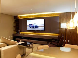 Modern style media rooms by GRIFFE HOME THEATER Modern