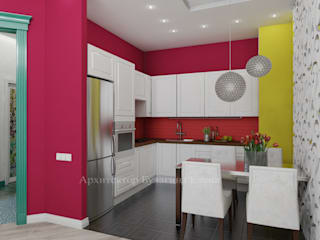 Kitchen by Архитектурное Бюро 'Капитель', Mediterranean