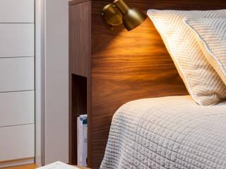 Apartamento - Pátio Bagatella, Lisboa:   por Traço Magenta - Design de Interiores