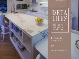 As últimas tendências e lançamentos em decoração e arquitetura. Cozinhas modernas por Granitos.com Moderno