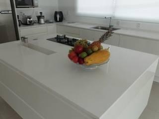 Ilhas - Decoração diferente e funcional. Cozinhas modernas por Granitos.com Moderno
