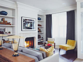 Living room by Douglas Design Studio, Classic