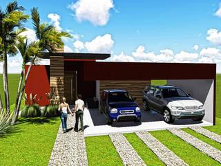 Residência E&S Casas modernas por Sete Square Arquitetura & Interiores Moderno