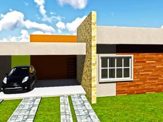 Residência M&G Casas modernas por Sete Square Arquitetura & Interiores Moderno