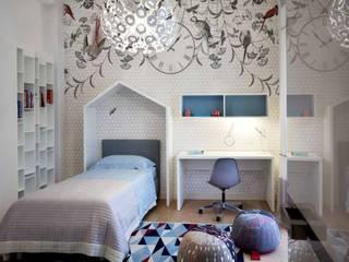 Chambre d'enfant moderne par Studio Marco Piva Moderne