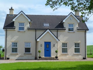 Dwelling, Rural County Tyrone Country style houses by Landmark Designs Country
