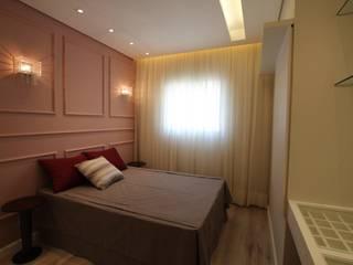 Moderne slaapkamers van Pricila Dalzochio Arquitetura e Interiores Modern