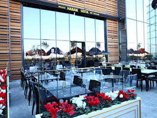 Restaurantes de estilo  por Tasarımca Desıgn Offıce,