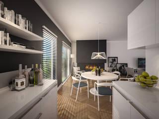 Salle à manger de style  par Tasarımca Desıgn Offıce, Moderne