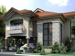 DAYAL Mimarlık – DIŞ CEPHE ÇALIŞMALARI: modern tarz Evler