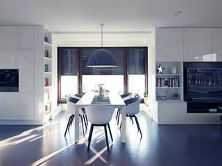 Neostudio Architekci:  tarz Yemek Odası, Modern