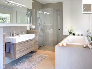 Modern bathroom by Kern-Haus AG Modern