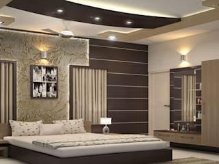 Mind- Blowing Modern style bedroom by Monnaie Architects & Interiors Modern