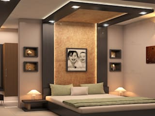 Modern style bedroom by Monnaie Architects & Interiors Modern