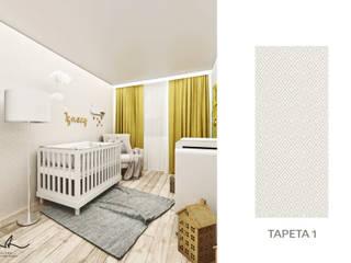 Pokój dziecięcy: styl , w kategorii Pokój dziecięcy zaprojektowany przez Laura Zubel Architekt Wnętrz