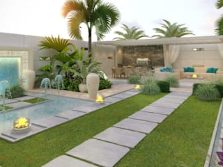 ​Landscaping ideas of Katrina Antonovich:  Houses by Luxury Antonovich Design