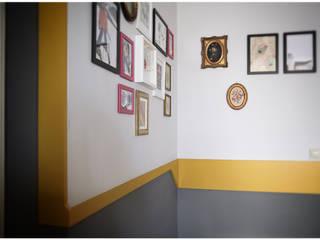 The Nutcracker Pareti & Pavimenti in stile moderno di FPAA / Fiori Pietrapiana Architetti Associati Moderno
