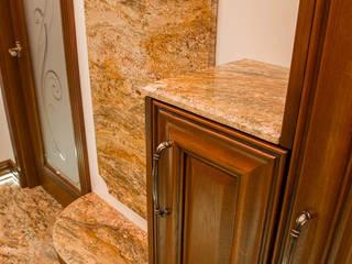 GRANMAR Borowa Góra - granit, marmur, konglomerat kwarcowy Pasillos, vestíbulos y escaleras de estilo clásico Granito