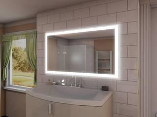 Badspiegel mit Beleuchtung:   von Ares GmbH - Spiegel21