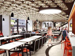 HOTEL V8: Hoteles de estilo  de TBI Architecture & Engineering