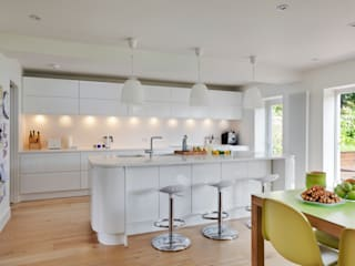House Renovation and Extension Tenterden Kent STUDIO 9010 Kitchen White