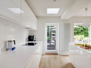 House Renovation and Extension Tenterden Kent STUDIO 9010 Modern kitchen White