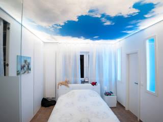 Lichtplanung und Beleuchtung für ein Einfamilienhaus Moderne Schlafzimmer von Moreno Licht mit Effekt - Lichtplaner Modern