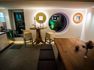 Lichtplanung und Beleuchtung für ein Einfamilienhaus von Moreno Licht mit Effekt - Lichtplaner Mediterran