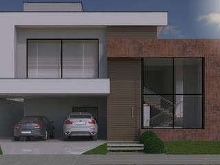 Residência J|E Casas modernas por A&B Arquitetura Moderno