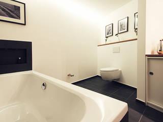 Wohnen am Südpark Moderne Badezimmer von Planungsgruppe Korb GmbH Architekten & Ingenieure Modern