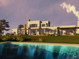 Rocha & Figueroa Bunge arquitectos Rumah Gaya Country