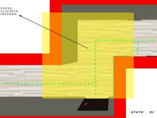 Ottimizzare gli spazi! Ingresso, Corridoio & Scale in stile minimalista di T.A. arredo_arredamento su misura Minimalista