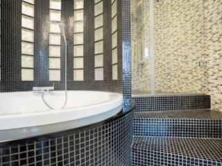 Bathrooms Baños modernos de Gracious Luxury Interiors Moderno
