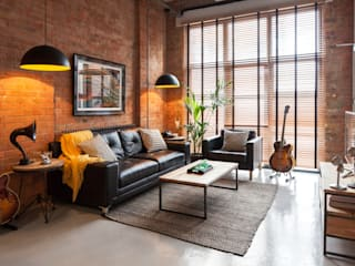 Britannia Row Salones de estilo moderno de Orchestrate Design and Build Ltd. Moderno
