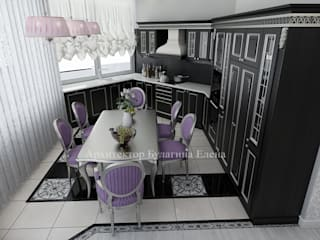 Kitchen by Архитектурное Бюро 'Капитель', Classic
