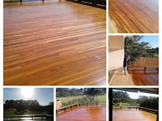 โดย Raspagem de piso de madeira