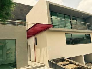 Detalle Acceso: Casas de estilo  por rave arch