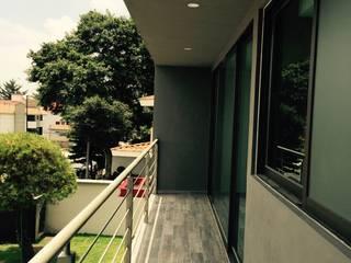 Terraza: Casas de estilo  por rave arch