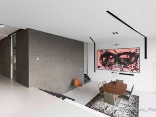 Fotografía Casa AB / Arquitectura & ID: Comedores de estilo  por Kroma Photo