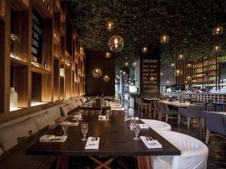 Sonora Grill Miyana Gastronomía de estilo rústico de PASQUINEL Studio Rústico