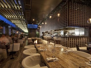 Sonora Grill Miyana Gastronomía de estilo moderno de PASQUINEL Studio Moderno
