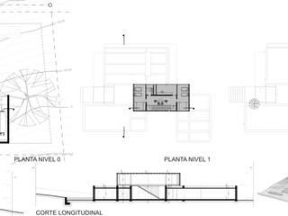 Horizontal Arquitectos의 현대 , 모던