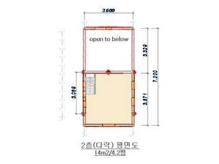 18평 소형 통나무집: 보국주택의