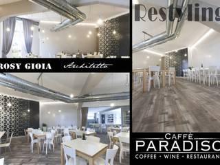 Il Restyling del Caffè Paradiso _ Minimalismo elegante_Terranuova Bracciolini (Arezzo):  in stile  di Rosy Gioia Architetto