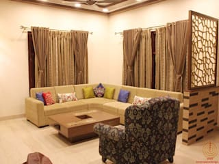 5 BHK Villa Home Interiors in Bangalore: minimalist  by Inner Space,Minimalist