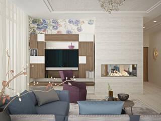 Modern living room by Соловьева Мария Modern