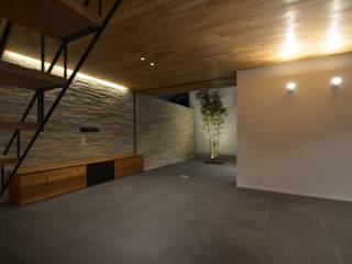 本天沼S邸: 遠藤誠建築設計事務所(MAKOTO ENDO ARCHITECTS)が手掛けた庭です。