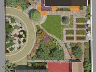 Мастерская ландшафта Дмитрия Бородавкина Country style garden